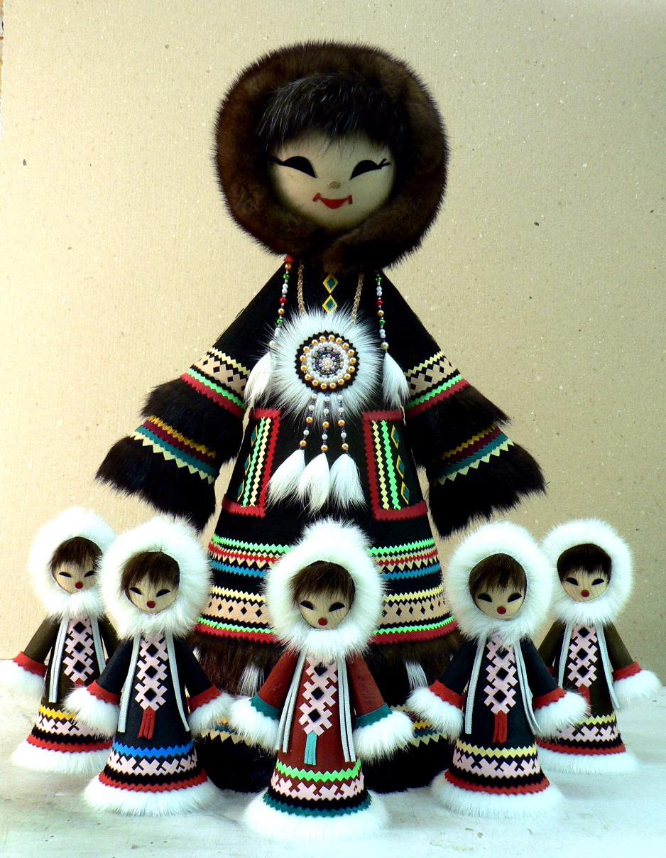 Кукла чукча своими руками